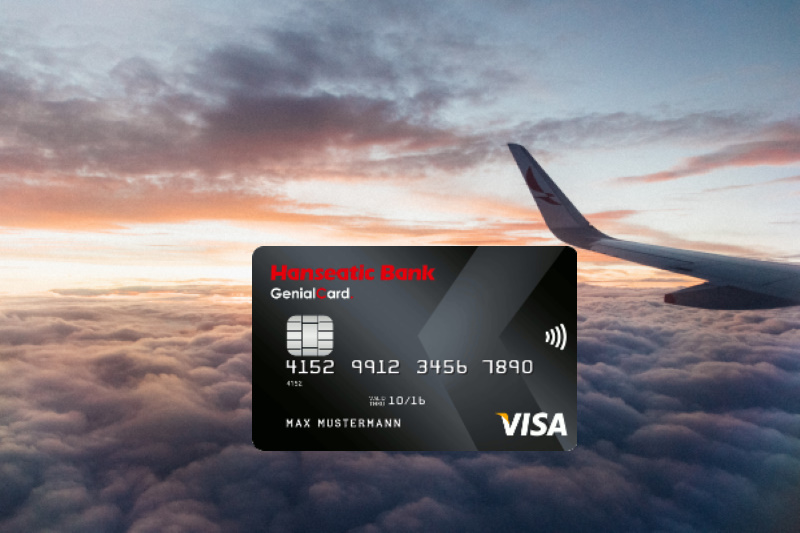 hanseatic bank genialcard visa credit card