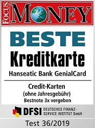 genial card hanseatic bank
