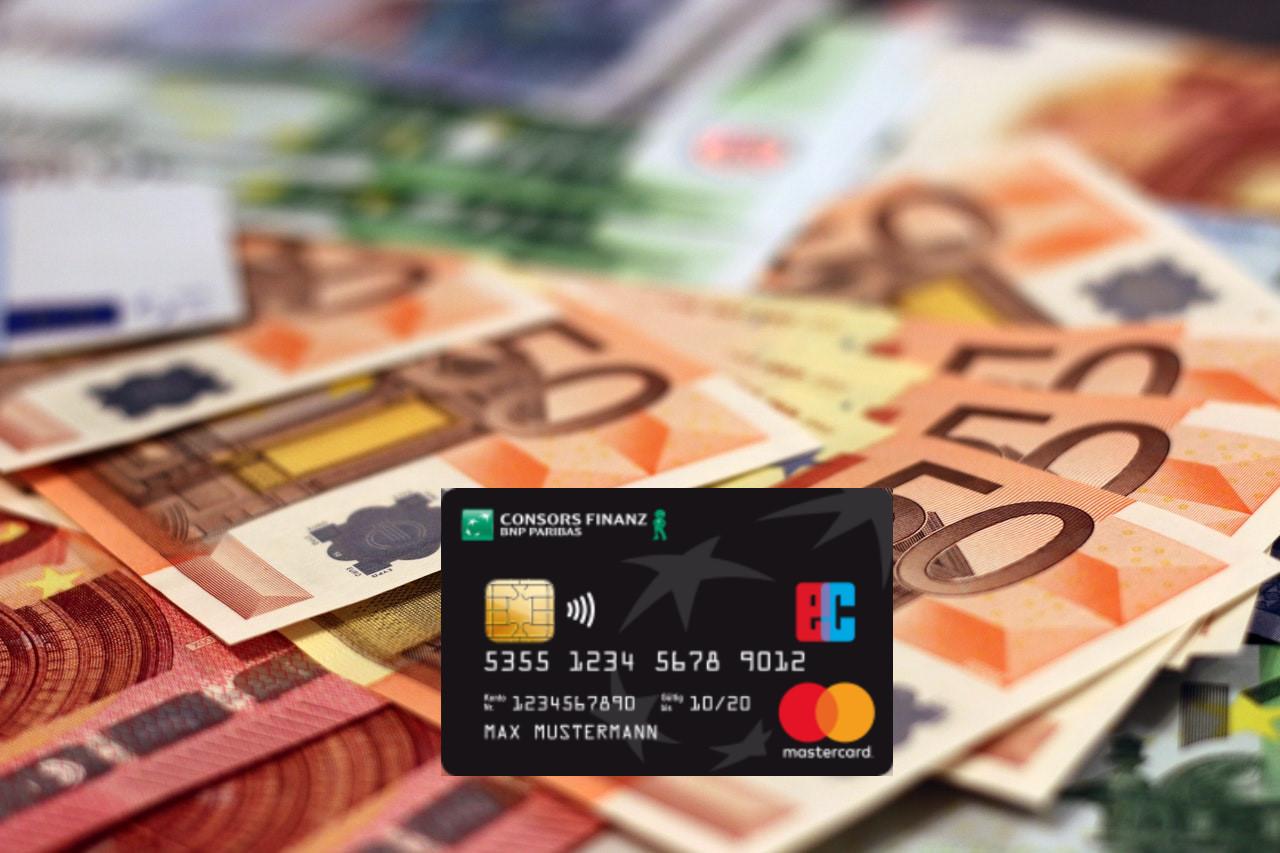 consors finanz mastercard with 50 euro bonus