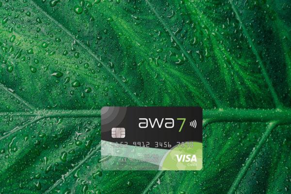 free awa7 visa card