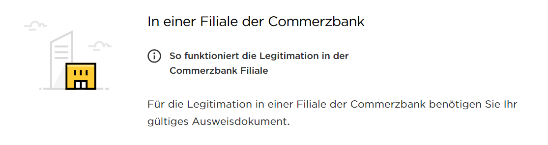 manual opening commerzbank account