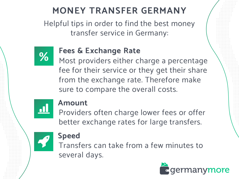 tips on how to find the best money transfer service in germany